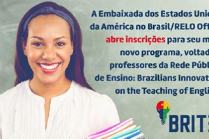 Novo curso para professores da rede pública