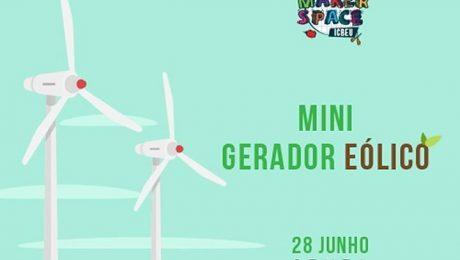Makerspace - Mini gerador eólico